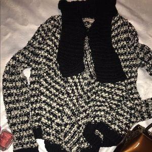 LOFT sweater cardigan style nice and warm